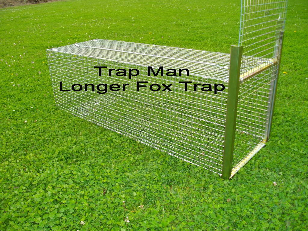 long fox trap cage